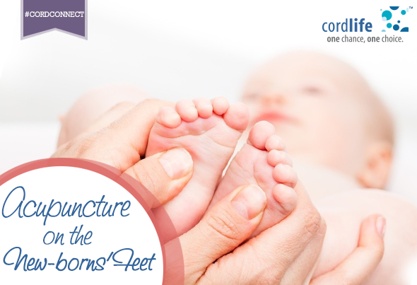 Acupuncture on the Feet for New-borns