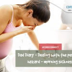 Dad Diary – Dealing with the perennial hazard – morning sickness