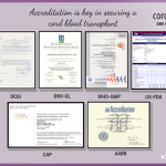 Accreditation is key in securing a cord blood transplant