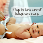 How to Care Your Baby's Cord Stump?