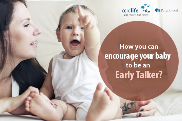 How you can encourage your baby to be an early talker