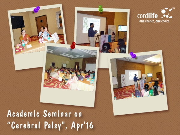 "ACADEMIC SEMINAR ON ""CEREBRAL PALSY"", APR'16"