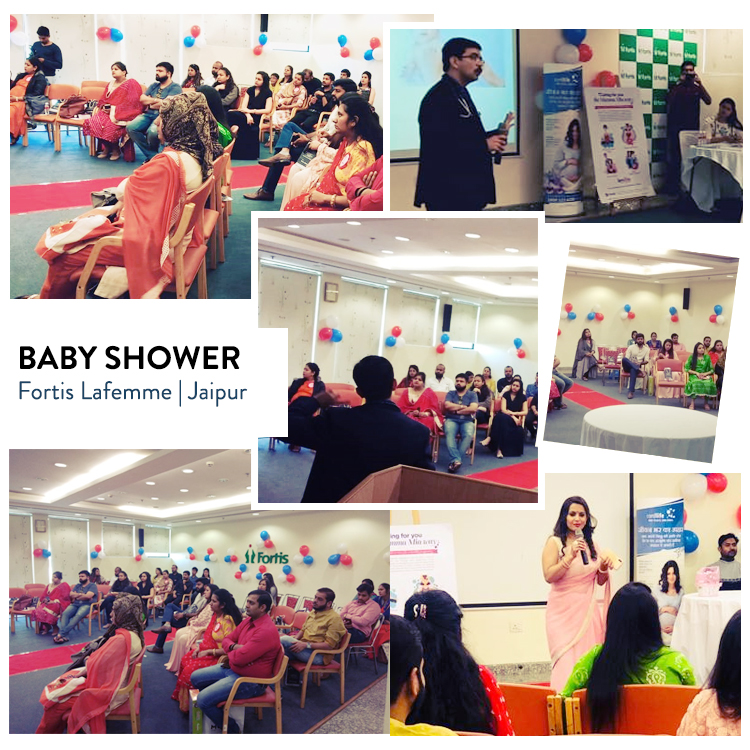 BABY SHOWER EVENT (23rd Feb 2019) – Fortis Lafemme, Jaipur